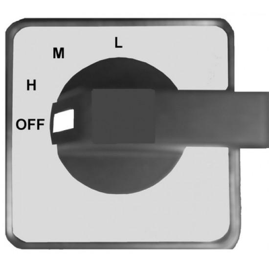 WDH AB10 Radiális falszárító ventilátor