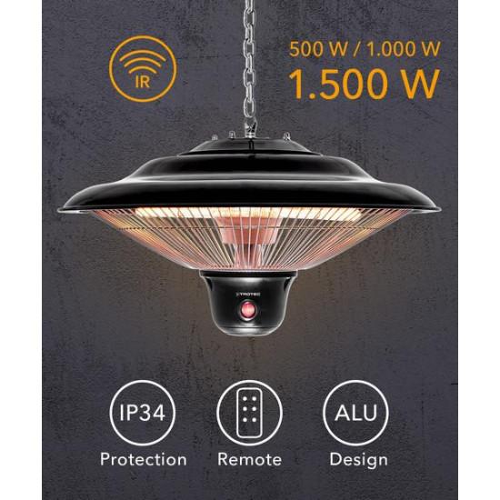Trotec IR 1500 SC - mennyezeti infra hősugárzó
