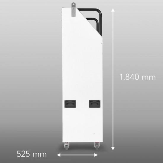 Trotec Porta Temp 23000 S Ipari profi mobil klíma