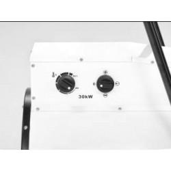 Trotec TDS 120 R 30 kW Elektromos ipari hőlégbefúvó, hősugárzó