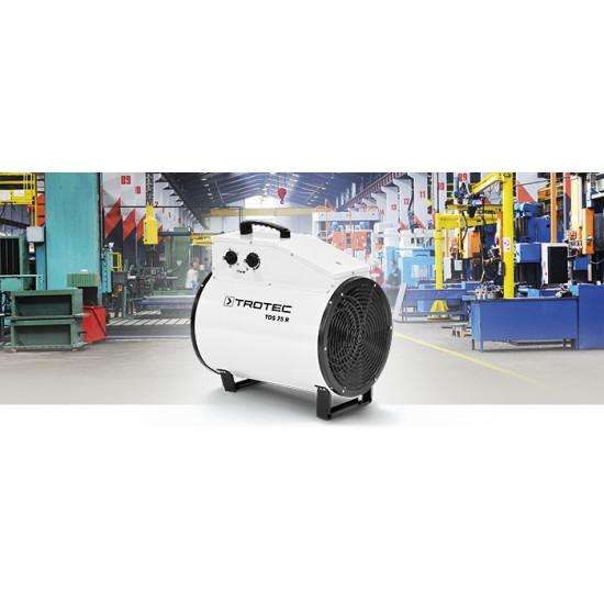 Trotec TDS 75 R 15 kW Elektromos ipari Hősugárzó, hőlégbefúvó