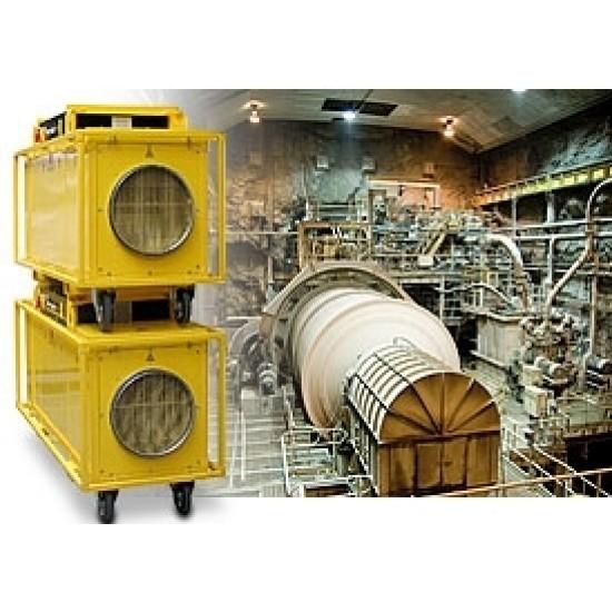 Trotec TEH 200/300/400 120 kW Légcsatornázható elektromos ipari hőlégbefúvó