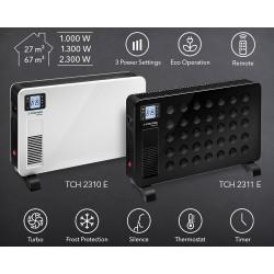 Trotec TCH 2310 E - 2,3 kW fűtőteljesítménnyel
