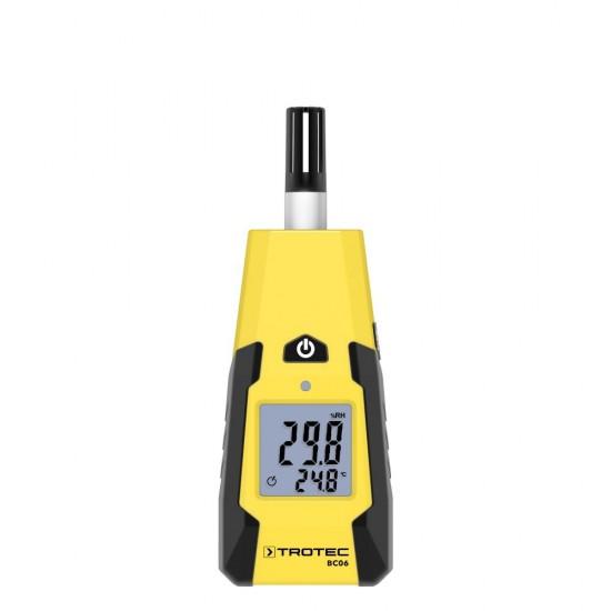 Trotec BC 06 digitális páramérő és hőmérő