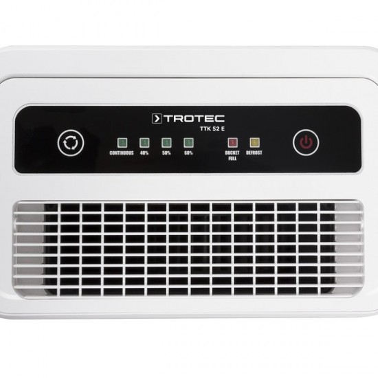 Trotec TTK 52 E Páramenetesítő- penész ellen 31 m2-ig - max. 16l/nap- digitális vezérlés