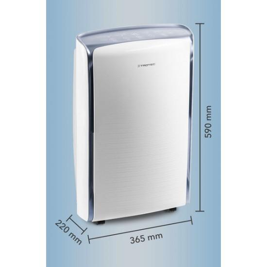 Trotec TTK 73 E Digitális párátlanító berendezés napi max. 50m2- 24l/nap teljesítménnyel