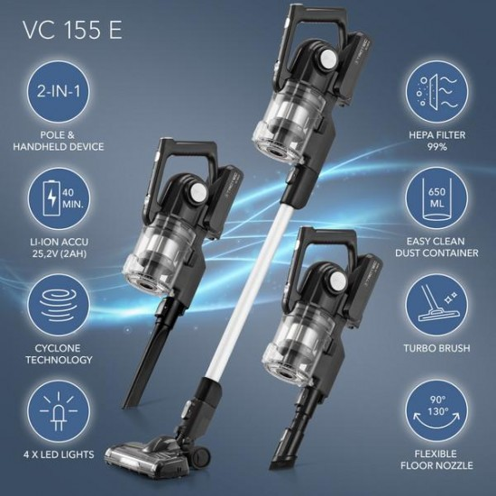 Trotec VC 150E/VC155E Akkumulátoros kézi porszívó